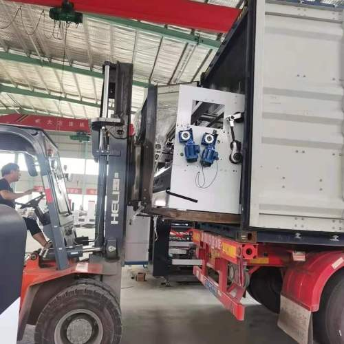 Huayu automatic adhesive machine paste box machine folding adhesive machine   High speed corrugated carton gluing machine