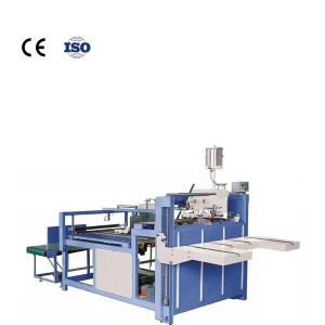 Hua yu New Type Semi-automatic Folder Gluer Used for carton bonding Semi-automatic box gluing machine