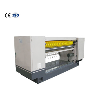 Nc-200 high efficiency spiral knife crosscutting machine is suitable for corrugated board production line