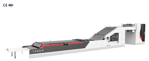 HRB-F automatic 5 laminar flow channel laminar flow machine Fully automatic flute laminating machine