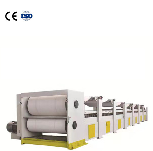 High quality corrugated board double backer facer caton box making machine Corrugated board production line