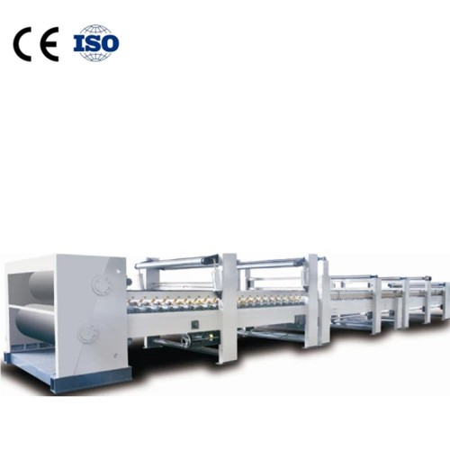 Application of heating compound machine in corrugated board production line
