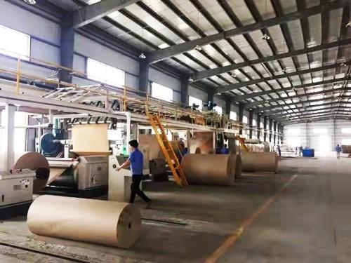 Single Side Corrugating Machine Corrugated 2 Ply Cardboard Single Facer machine Single sided corrugating machine