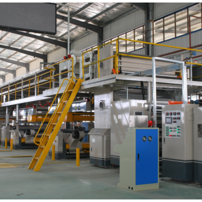 Paper Sheet & Side Conveyor for Corrugated Cardboard Production Line