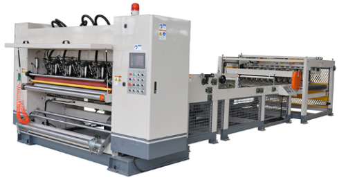 2-layer corrugated board production line / food packaging carton production machine
