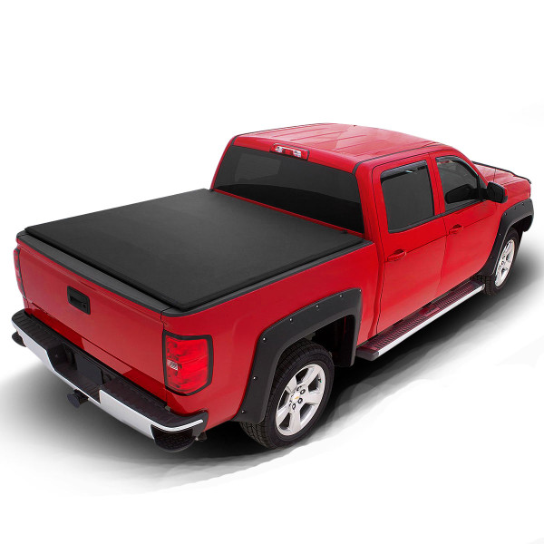 Toyota Soft Roll Up Tonneau Cover for 2005-2015 TOYOTA Tacoma 6ft Bed
