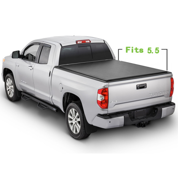 Toyota Soft Roll Up Tonneau Cover 07-17 Truck Bed Covers for TOYOTA Tundra 5.5