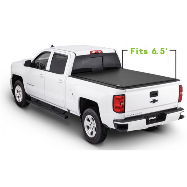Chevrolet Soft Roll Up Tonneau Cover 88-18 Pickup Bed Covers For CHEVROLET Silverado/GMC canyon 6.5