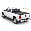 Chevrolet Soft Roll Up Tonneau Cover 04-18 Truck Tonneau Covers for CHEVROLET Silverado/GMC canyon5.8