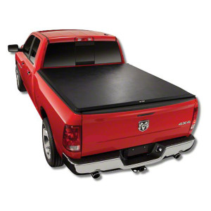 Dodge Soft Roll Up Tonneau Cover 09-17 Soft Truck Bed Cover For DODGE 1500  5.8