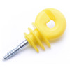 Plastic Ring Insulators For Ropes Max.9.5mm,Suitable For wooden post