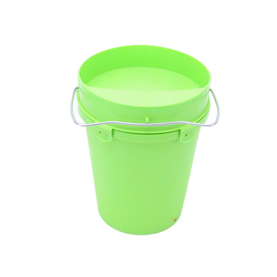 5.5L Green Automatic Poultry Waterer Drinker For Chicken, Chick Waterer Plastic Poultry Fount, Automatic Chicken Water Container Jar