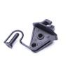 Steel Post Plastic insulators For Wires Max.4.5mm