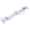 Galvanized Electric Fence Strainer Clamp, Double Electric Fence Strainer Clamp