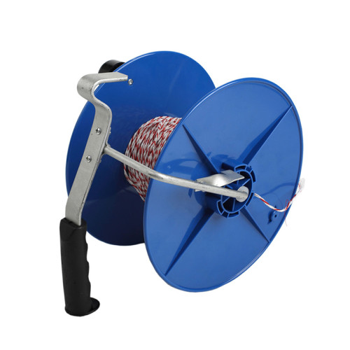 Polywire Portable Electric Fence Reel for Sale, Blue, Agricultural Equipment, Electric Fence Winder & Spool