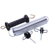Economy UV Electric Fence Gate Handle,Long Spring steel with galvanized coating,Black Insulated,Electric Fence Gate Spring Kit