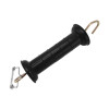 Plastic Insulated Livestock Hook Electric Fence Gate Handle, Field Guardian Medium Duty Gate Handle with Rope Connector