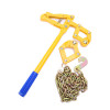 Heavy Duty Power Coated Fence Wire Chain Strainer, 1.2m Chain Strainer,Fence Plain Barbed Wire Strainer