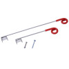 250mm Electric Fence Pigtail Offset Insulators