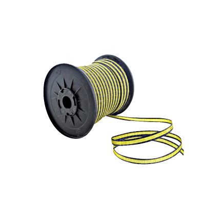 Electric Fence Polytape With 12 Stainless Steel Rust Resistant Strands, 656 Feet 200 Meter Length, White Color