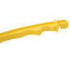 Yellow Insulated Electric Fence Gate Handle, Suit Energizer Polywire/Polytape/Polyrope, PP Material with UV Resistance