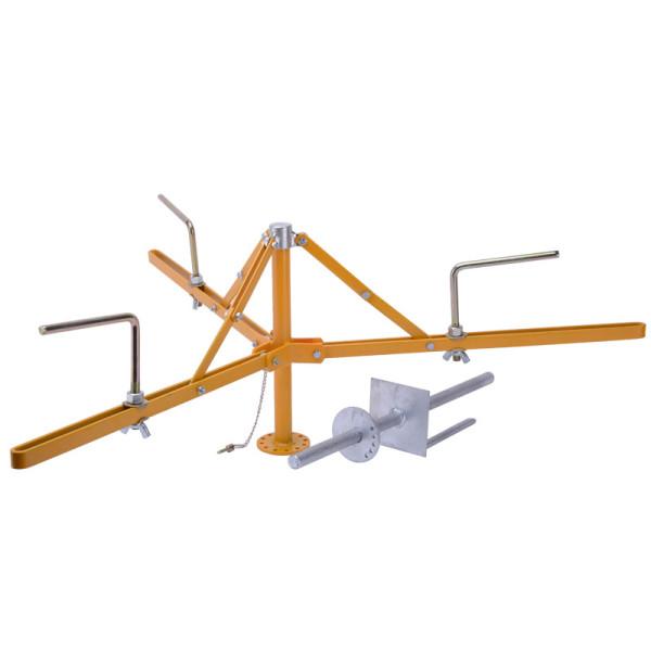 Wholesale Foldable Steel Spinning Jenny Fence Wire Dispenser, Folding Spinning Jenny For Dispensing Fencing Wire, Collapsible Spinning Jenny