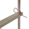 Heavy Duty Steel Spinning Jenny Fence Wire Dispenser, Spinny Jenny Wire Reel