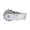Electric Fence Ratchet  Wire Strainer, Heavy Duty Inline Wire Tensioner Galvanised Steel Clip Lock Wire Ratchet Tensioner, Wire Tightener for Electric Fence Farm Fence