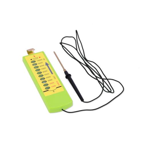 Livestock Multi Light Electric Fence Voltage Wire Tester, Electric Neon Light Voltmeter 10KV Farm Fence Tester, Green