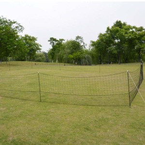 1.25*50M Electric Poultry Netting Kit For Chicken, Electric Fence Net, Chicken Net Green, Poultry Netting Fencing