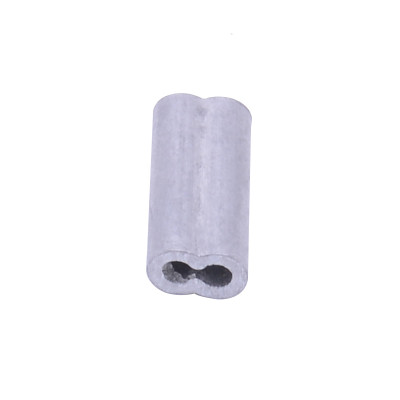Aluminum Crimping Loop Sleeve for Wire Rope, Aluminum crimp sleeve, Polyrope Electric Fence Connectors For Farming