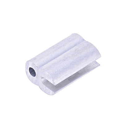 Aluminum Crimping Loop Sleeve Cable Crimp For Wire Rope, Cable Ferrule, Aluminium Electric Fence Connector Sleeves