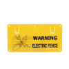 Plastic Electric Fence Warning Signs For Danger, Electric Fence Sign Farm Home, Warning Electric Fence Safe Sign