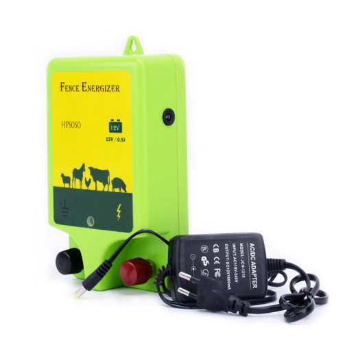 Electric Fence Energizer, 2 Joules, 110 Volt Energizer,  Unbeatable Reliability AC-Powered Electric Fence Charger