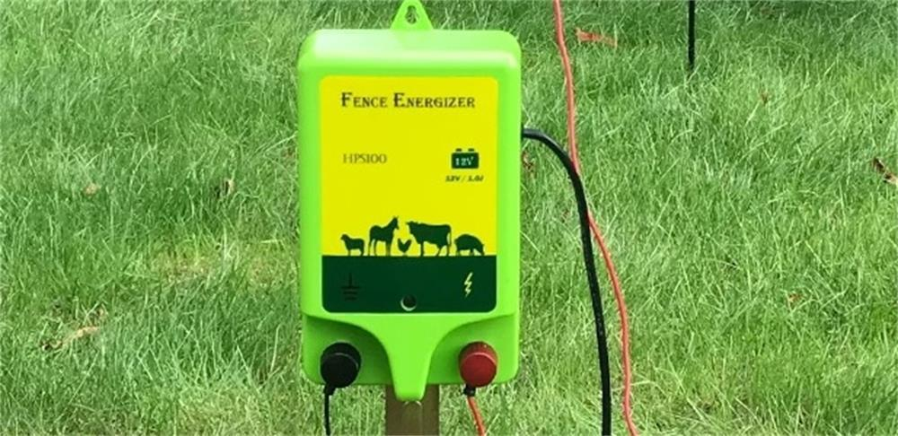 the method of choosing a suitable electric fence energizer