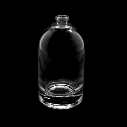 جولة أسود زجاجة رذاذ عطر بالجملة فارغة المصنعين زجاجات GP