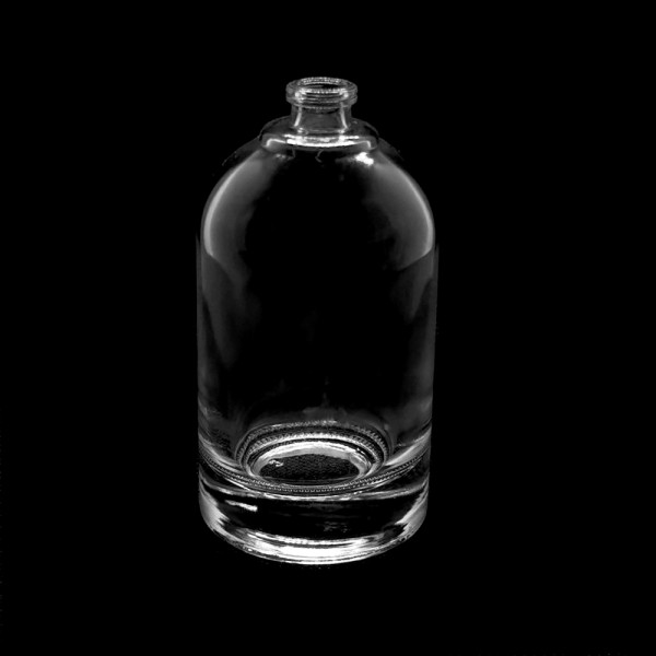 Round black wholesale perfume spray bottle empty manufacturers GP Bottles
