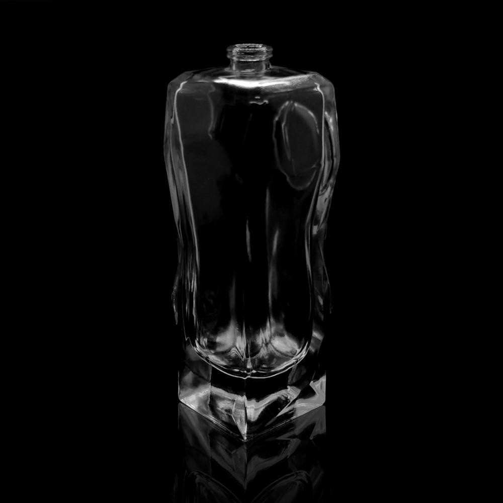 empty glass perfume bottle