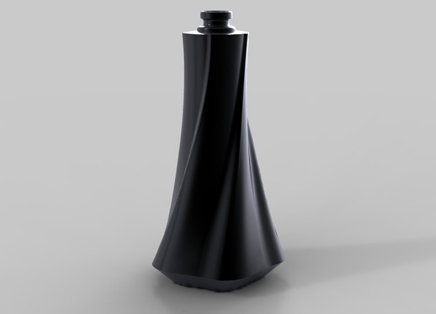 Perfume bottle mock-up