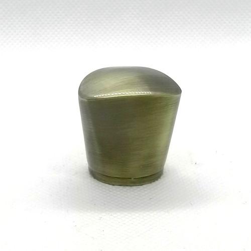 Bronze brush finished zamac lost perfume cap for glass bottles