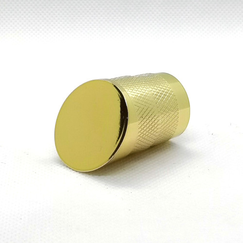 Women perfume with pointed cap golden zamac for sale