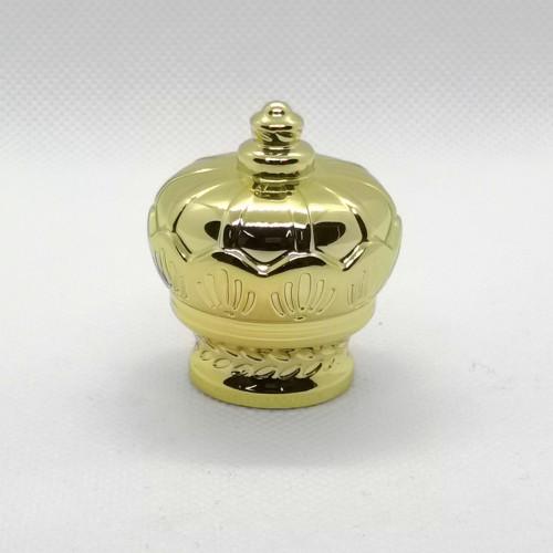 أغطية زجاجات العطور المصنوعة من الذهب زاماك من الصين للبيع