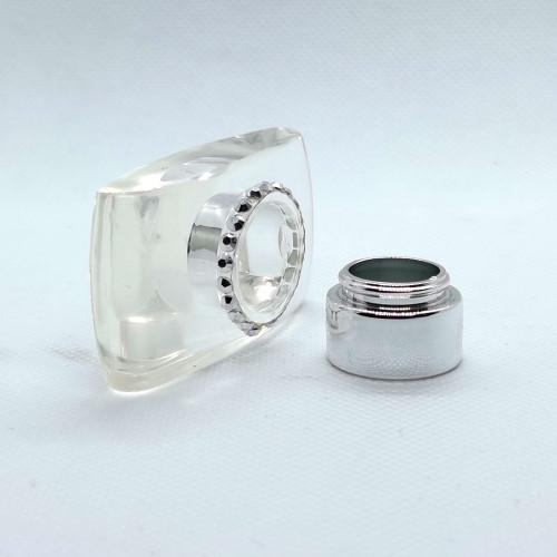 transparent surlyn plastic caps for glass bottles manufacturer | GP Bottles
