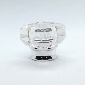 China wholesale transparent plastic perfume caps for glass bottles