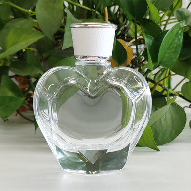 ABS perfume cap with leather