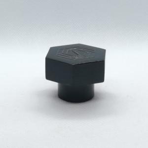 العرف الأسود سورلين البلاستيك غطاء زجاجة العطور المصنعين | زجاجات GP