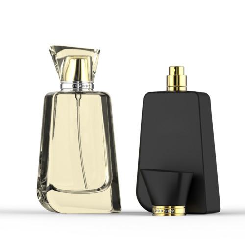 Nuevo frasco de perfume de cristal de 100ml con tapones acrílicos | Botellas GP