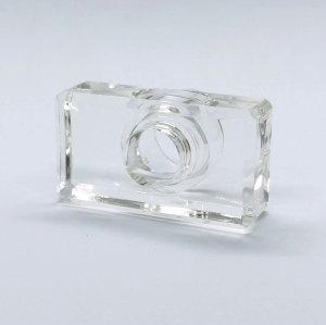 غطاء مستطيل شفاف للعطور من سورلين لتخصيص الزجاجات | زجاجات GP