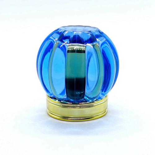 Perfume francés de pomel con tapa de perfume acrílico con tapa de oro al por mayor | Botellas GP