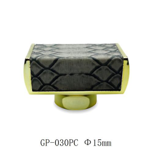 غطاء العطور البلاستيكية المغطى بالجلد ABS | زجاجات GP